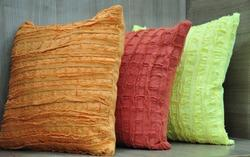 Cotton Textured Cushion Covers