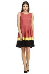 Multi Color A- Line Dress