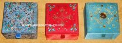 Zari Embroidered Boxes