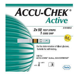 Accucheck Active Strips 100s