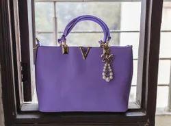 Medium V Shaped Ladies Shoulder Bag