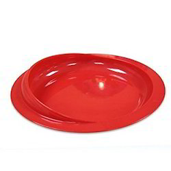 Red Scoop Plate