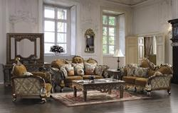 Vedome Wooden Sofa Set
