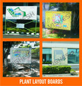 Plant Layout Sign Boards
