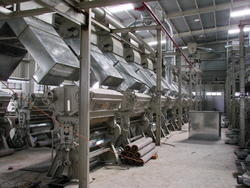 Double Roller Ginning & Pressing Machine Automated Plant