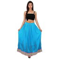 Designer Jaipuri Printed Skirt