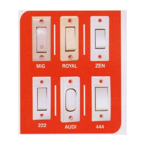 Switches and Sockets 6 AMP Electric Switches Manufacturer from Delhi