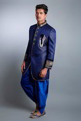 Indo Western Royal Blue - Suits