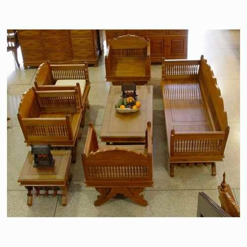 Home Furniture Wooden Sofa Set Manufacturer From New Delhi