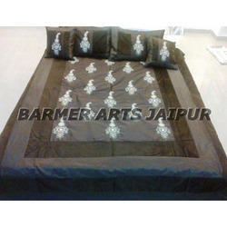 Stylish Silk Embroidery Bed Sheets