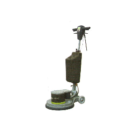 single disc scrubbing machine