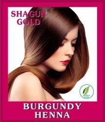 Hair Dye Burgundy Powder