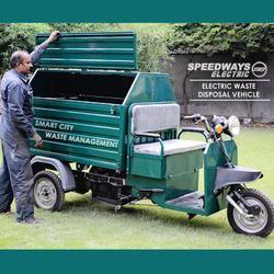 waste disposal vehicle battery operated rickshaw loader