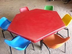 Nursery School Fiber Table Chair