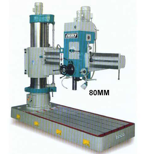 80mm All Geared Radial Drill Machine