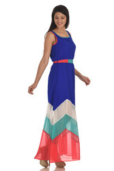 Georgette Gown Dress