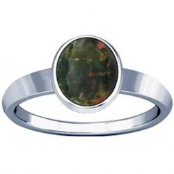 Bloodstone Sterling Silver Ring