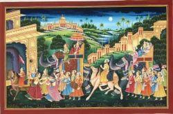 Maharaja Procession Paintings