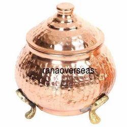 Copper Tea Suga Canister