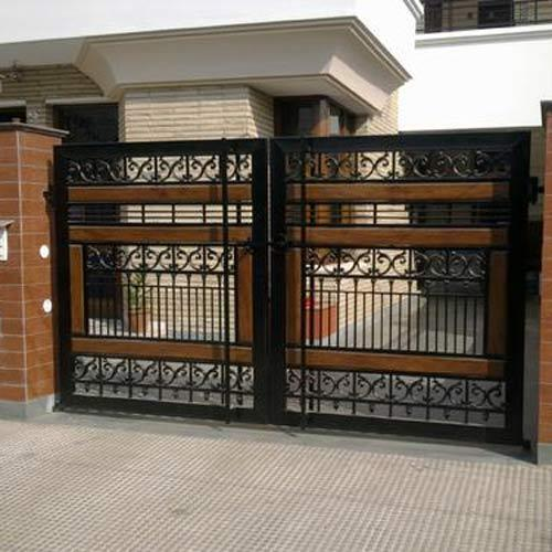 Front Home Gate Design. Electric Gate Steel And Metal Design ...