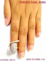 Diamond Nail Ring