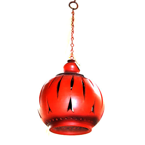 Terracotta lamp shade manufacturer from kolkata terracotta lamp shade aloadofball Image collections