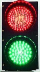 Solar Traffic Blinker Lights