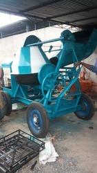 Concrete Mixer Machine with Hopper