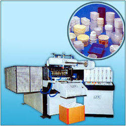 Hi-Speed Thermocol Type Glass Thali Plate Machine