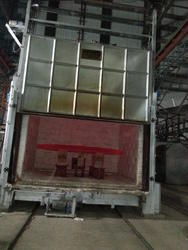 Bogie Hearth Furnace for Dish End