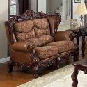 Frosinone Wooden Sofa set