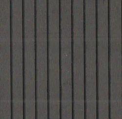 Dark Grey-Big Grooves WPC Decking