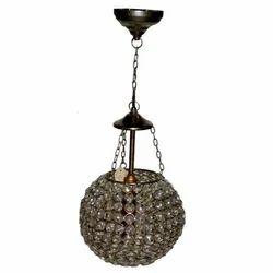 Iron Glass Lamp
