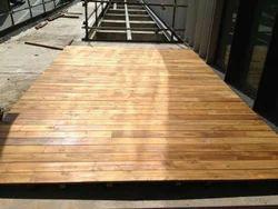 Myanmar Teak Deck Flooring