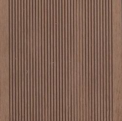 Small Grooves WPC Decking Teak