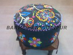 Embroidery Ottoman