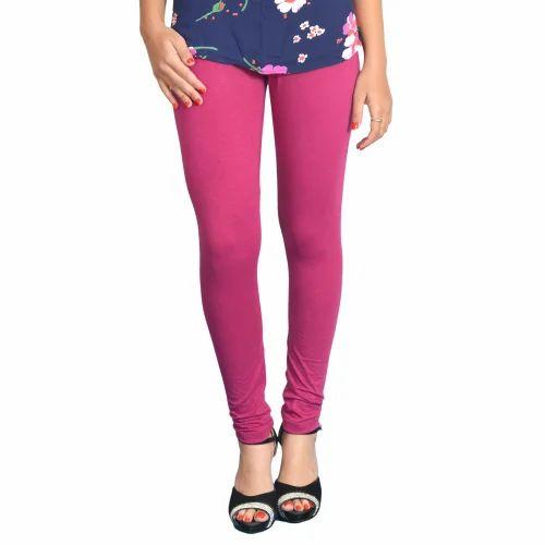 Purple Women Leggings
