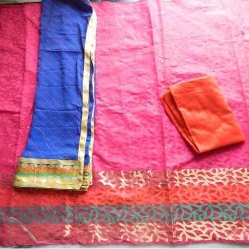 Banarsi Silk Suits in Light Color