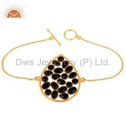 Handmade 925 Silver Black Onyx Bracelet