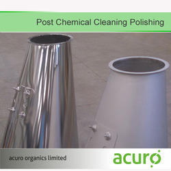 Post Chemical Cleaning Polishing