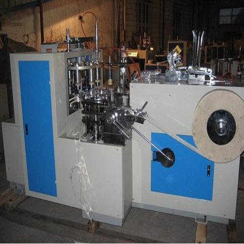 Paper Cup Forming Machine.