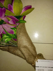 Hessian Cloth For Flower Bunch
