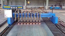 PEB Web & Flange Cutting Machine