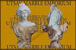 Decorative Marble Lady Busts