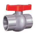 PP Solid Ball Valves