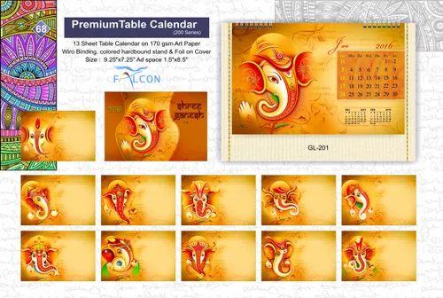 Premium Table Calendar