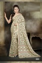 Indian Plain Sarees With Blouse Piece
