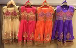 Small Girls Anarkali Suit