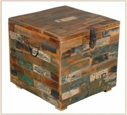 Reclaimed Wood Box - Reclaimed Wood Furniture