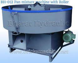 Roller Pan Mixer